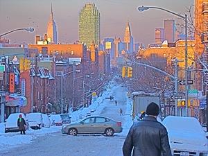 Photos Of Snowfall In Queens | photos of snowfall in queens long island city sunnyside snowfall photos january 12 2011