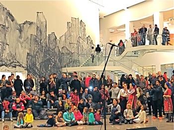 Queens Museum of Art Renovations | queens museum of art flushing queens museum of art re-opens queens museum of art remodeled photos queens international 2013 art exhibit