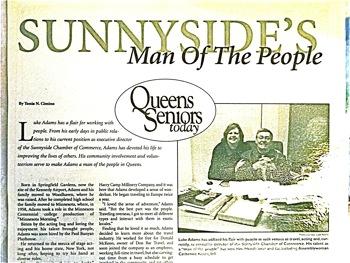 Luke Adams - The Irish in Sunnyside & Woodside | irish in sunnyside irish in woodside luke adams
