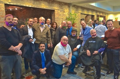 Shave the Stache - QSAC Quality Services for Autism Community  | quality services for autism community queens nyc QSAC nyc queens art 4 healing william balash paul halvatzis amorelli realty astoria frank arcabascio Redken saloon salon astoria