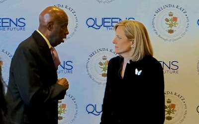 Queens Borough President State of the Borough Address 2018 | queens borough president melinda katz state of the boro address queens boro president melinda katz state of the borough address