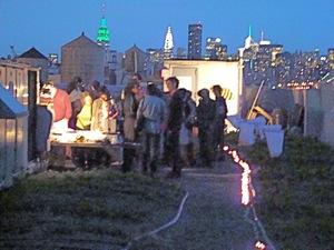 WQCI At Brooklyn Grange | western queens compost initiative brooklyn grange environmentalists in queens green events