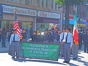 Columbus Day Parade In Queens - FIAO | columbus day parade in astoria queens fiao in astoria queens federation of italian americans in queens