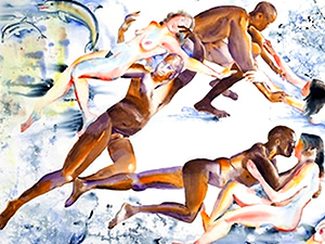 M55 Art Gallery in LIC - Relationships Undressed | M55 Art Gallery in LIC M55 art gallery in long island city queens m55 art gallery