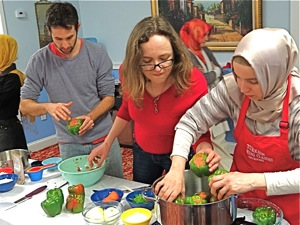 Turkish Cooking In Sunnyside Queens | turkish cooking classes in queens turkish cooking in sunnyside queens turkish cooking in queens turkish cooking classes in nyc cooking classes in queens astoria lic sunnyside jackson heights flushing jamaica ny